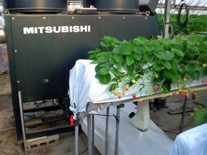 mitsubishi暖房機