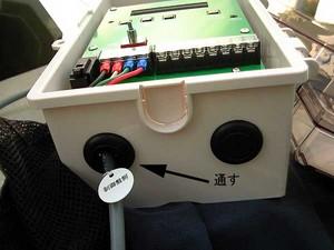 きつつき君制御盤側接続